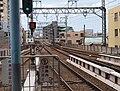 Heiwajima Sta plattform.jpg