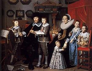 Hendrick Cornelisz. van Vliet - Image: Hendrick Cornelisz. van Vliet Portrait of Michiel van der Dussen and His Family WGA25275