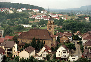 Hellmut G. Haasis - Mühlacker, Germany, the birthplace of Hellmut G. Haasis