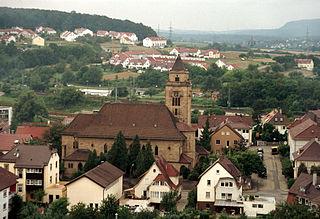 Mühlacker town in Baden-Württemberg, Germany