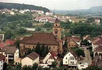 Mühlacker - Image: Herz Jesu Kirche Mühlacker
