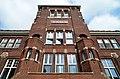 Het voormalige klooster Mariënbosch Voorgevel Art Deco Amsterdamse School Charles Estourgie Nijmegen 1924 2.jpg