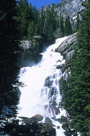 Cascade Canyon - Image: Hidden Falls Smaldone