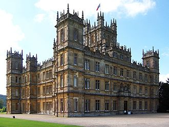 Highclere Castle - Highclere Castle, front façade