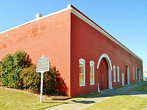 Sylacauga, Alabama - The Hightower Brothers Livery Stable was added to the National Register of Historic Places in 1997.