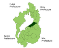 Hikone in Shiga Prefecture.png
