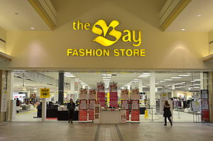 Hillcrest Mall - The Bay Fashion Store, located centrally in Hillcrest Mall, is one of the mall's anchor stores