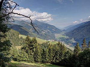 Möll - Möll valley near Obervellach
