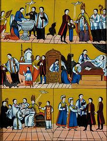 Sakramente Katholisch Evangelisch