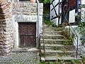 Hirtentor, Stadtseite, Zugang zur Zisterne.JPG