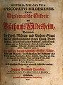 Historia Diplomatica Episcopatus Hildesiensis das ist Diplomatische Historie des Bißthums Hildesheim (1740).jpg