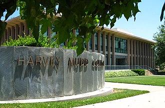 Harvey Mudd College - Harvey Mudd College entrance on Dartmouth Ave.