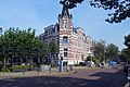 Hoek Van Spaenstraat en Fransestraat. Galgenveld Nijmegen Negentiende-eeuwse schil Neorenaissance.jpg