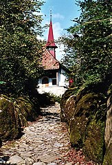 Tell Chapel in the Hohle Gasse