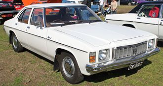 Holden Kingswood - The mid-level model of the HX range, the Kingswood.