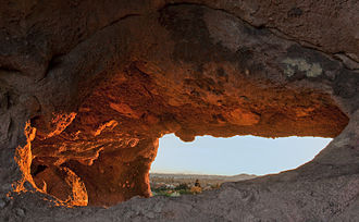 Papago Park - Inside Hole in the Rock