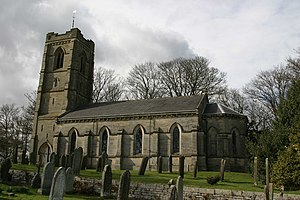 Cambo - Image: Holy Trinity Church, Cambo geograph.org.uk 147493