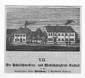 Holzstich - Hirschau - Schulschwestern und Wohlthätigkeitsanstalt - um 1870.jpg