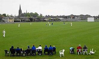 Sportpark Westvliet - Image: Homeground Voorburg Cricket Club