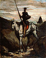 Honore Daumier - Don Quixote in the Mountains - Google Art Project.jpg