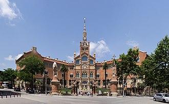 Hospital de Sant Pau - Image: Hospital Sant Pau, main facade