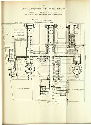 Liverpool Infirmary - Image: Hospitals and Asylums of the World Portfolio of Plans, p. 26