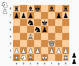 Hostage Chess - Image: Hostage Chess, Fried Liver