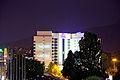 Hotel Hilton in Sofia behind NDK 2012 PD IMG 1898.jpg