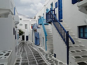 Houses in Mykonos