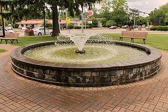 Howland Township, Trumbull County, Ohio - Fountain in Richard E. Orwig Park