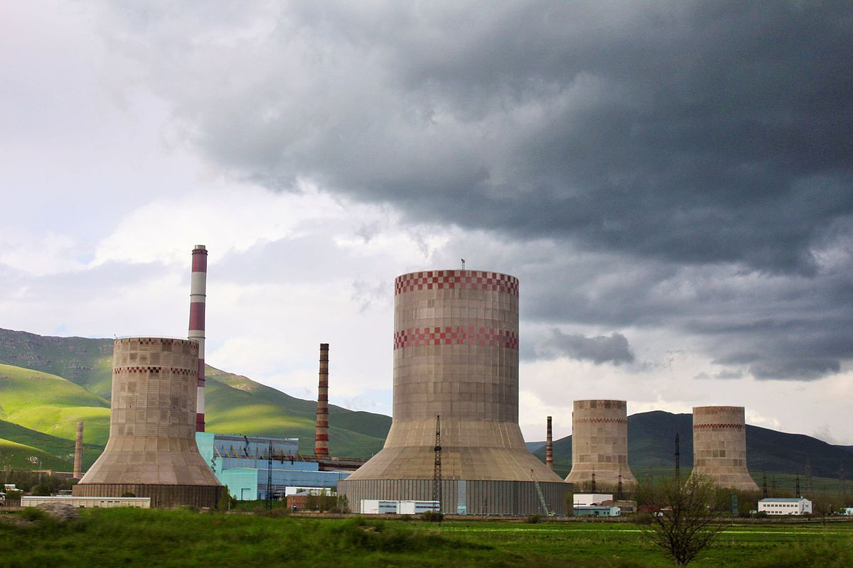 Thermal Power Station : Hrazdan thermal power plant wikipedia