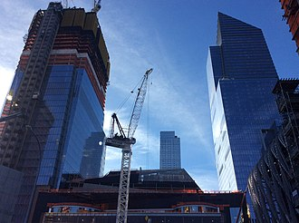 30 Hudson Yards - Image: Hudson Yards May 2017 47