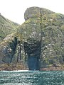 Huge cave and cliffs with nesting seabirds on west side of Mingulay - geograph.org.uk - 851249.jpg