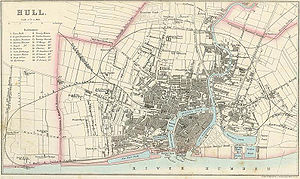 Kingston upon Hull - Hull in 1866