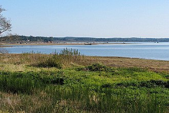 Humptulips River - Mouth of the Humptulips River at Grays Harbor