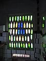 Hundertwasser Toilets, Kawakawa - Bottle Wall.jpg
