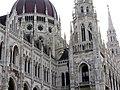 Hungarian Parliament, Danube side detail, 2013 Budapest (391) (13227568533).jpg