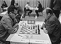 IBM-schaaktoernooi, Amsterdam nr. 8, 9 links Geller (US rechts Hort (Tsjechosl, Bestanddeelnr 923-6666.jpg