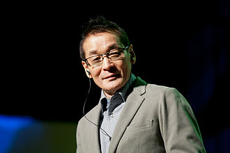 Norio Wakamoto - Norio Wakamoto at Desucon Frostbite 2013, Finland