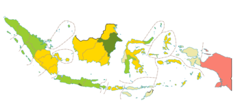 Ipm Provinsi Di Indonesia  Png