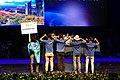 IPhO-2019 07-07 opening team Kazakhstan.jpg