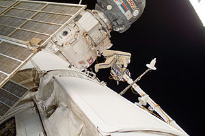 Yuri Malenchenko - Expedition 32 flight engineer Malenchenko participates in a spacewalk on 20 August 2012.