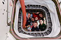ISS-47 Crew members inside Orbital ATK's Cygnus OA-6 vehicle.jpg