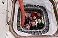 ISS-47 Crew members inside Orbital ATK's Cygnus OA-6 vehicle.jpg
