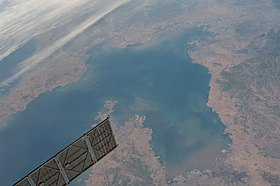 Вид на Бохайвань со спутника