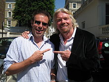 Ian Usher and Richard Branson May 2009 Goal 46.JPG