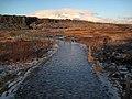 Icy Path in Thingvellir (3066308662).jpg