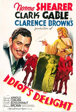 Idiot's Delight (film) - Movie poster