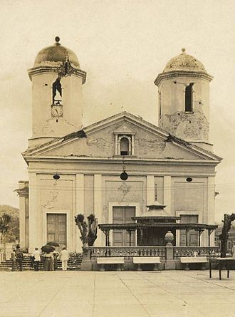 Catedral Nuestra Señora de la Candelaria (Mayagüez, Puerto Rico) - Church after the 1918 San Fermín earthquake