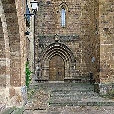 Iglesia del Monasterio de Valvanera (Anguiano). Portada.jpg